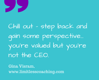 Passionate employees: Chill out… you're not the CEO