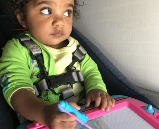 Top tips for travelling with a toddler